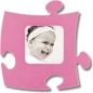 Mobile Preview: Puzzle Rahmen, 10x10cm - pink