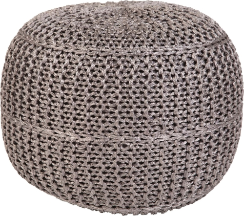 Pouf Mesh Outdoor Grey