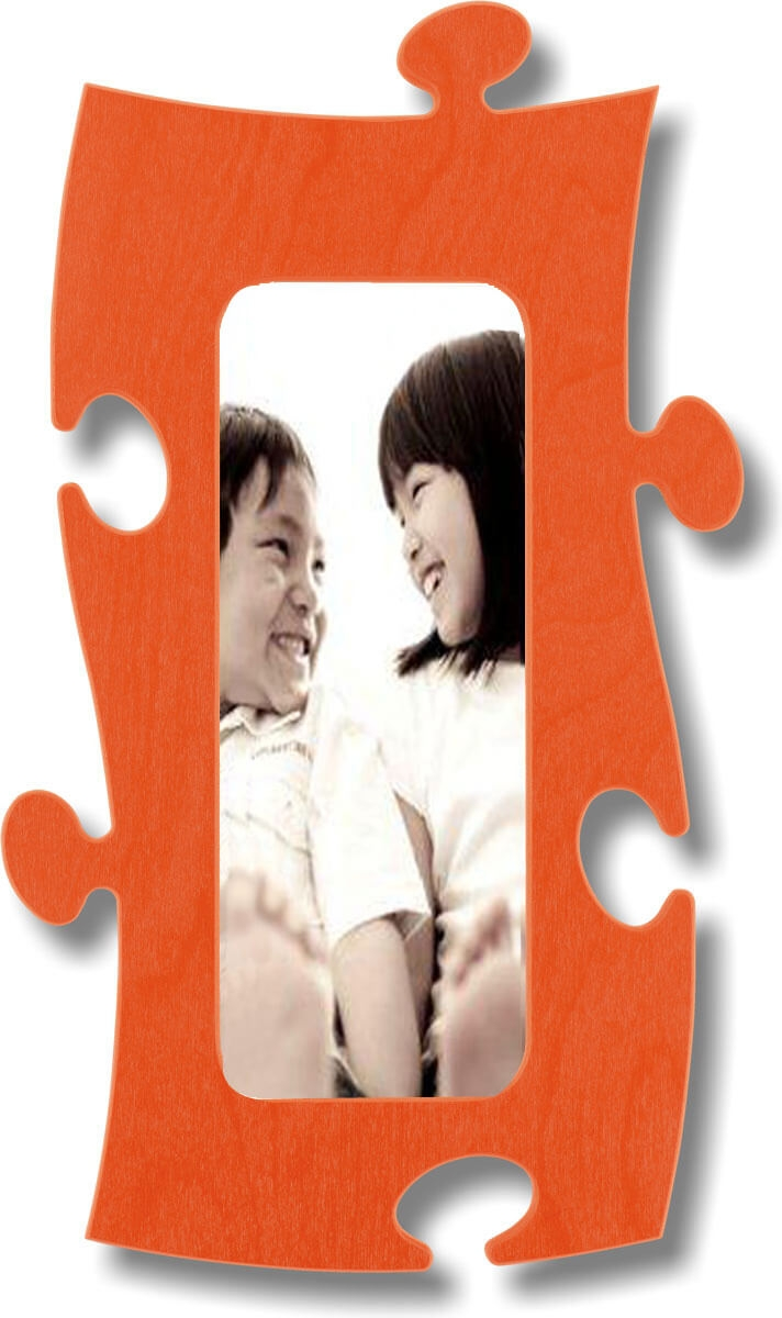 Puzzle Rahmen, 10x25cm - orange